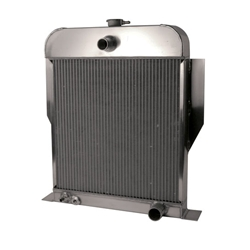 AFCO 1949-53 Ford Car Aluminum Radiator, Chevy Engine