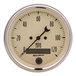 Auto Meter 1880 Antique Beige Air-Core Speedometer Gauge