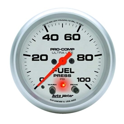 Auto Meter 4472 Ultra-Lite Digital Stepper Motor Fuel Pressure Gauge