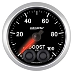 Auto Meter 5606 Elite Digital Stepper Motor Boost Gauge, 2-1/16 Inch