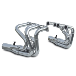 Dynatech® Small Block Chevy Strut Stahl Drag Racing Headers, Coated, 1-7/8 - 2 Inch