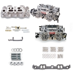 Edelbrock 2067 RPM Dual-Quad Manifold Carb Kit for 348/409 W-Series Chevy