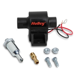 Holley 12-427 32 GPH Mighty Mite Electric Fuel Pump, 4-7 PSI