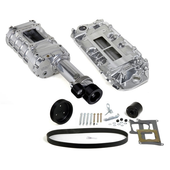 Big Blower Supercharger: Weiand 7751-1 Pro-Street Supercharger Kit, Chevy Big Block