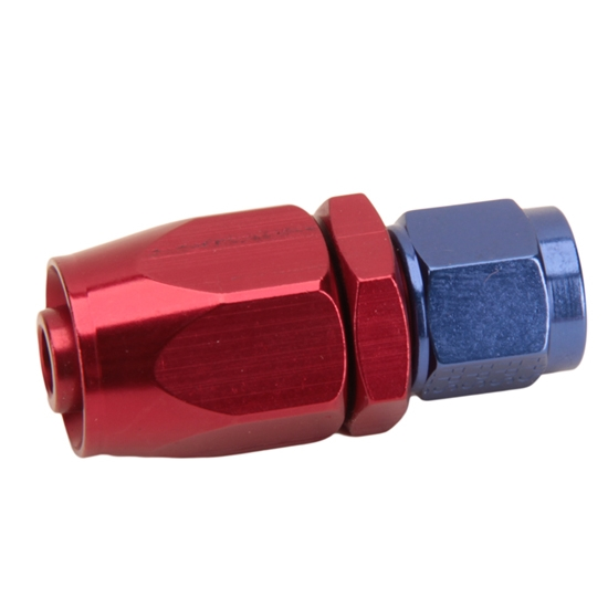 Fragola 220105 Straight Adapter Hose End Fitting, -8 AN to -6 AN