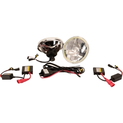 Delta 01-1189-HIDH Classic 7 In HID Hi/Lo Beam Headlights, Turn Signals