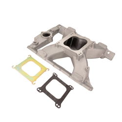 Professional 326-455 Pontiac V8 Plain Intake Manifold 2200-6500 RPM