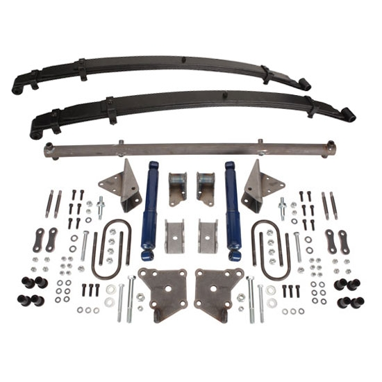 TCI 1937-1953 1/2 Ton Chevy Pickup Rear Leaf Spring Kit, 3100 Series Chassis