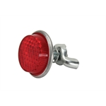 Pedal Car Parts, Atomic Missile Red Exhaust Cover Reflector