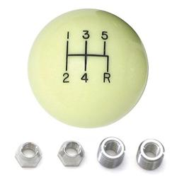 Lokar SK-6872 5 Speed Ivory Manual Shift Knobs