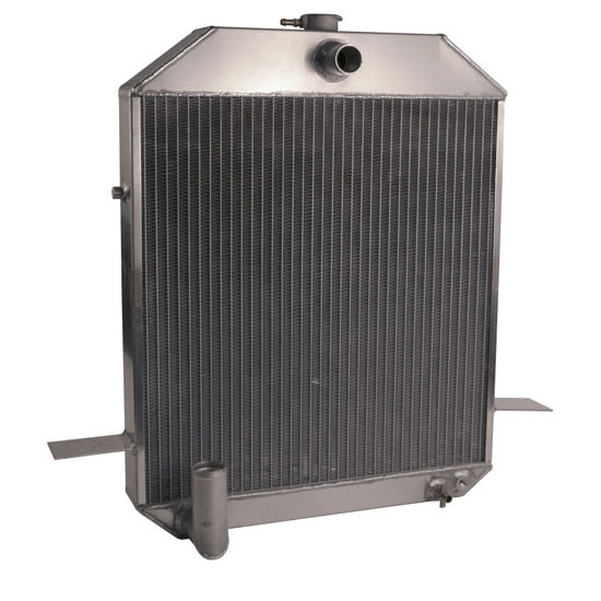 AFCO 1939-40 Deluxe, 1940-41 Ford Truck Aluminum Radiator, Ford Engine