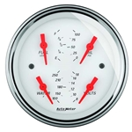 Auto Meter 1319 Arctic White Air-Core Quad Gauge