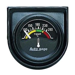 Auto Meter 2355 Auto Gage Air-Core Water Temperature Gauge