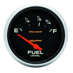 Auto Meter 5416 Pro-Comp Air-Core Fuel Level Gauge, 2-5/8 Inch