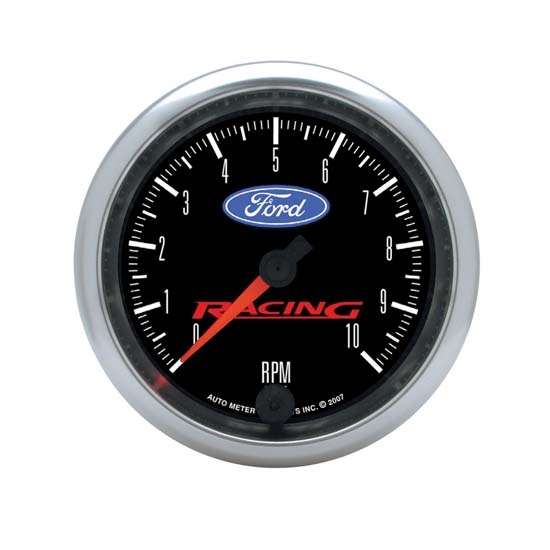 Auto Meter 880084 Ford Racing Air-Core In-Dash Tachometer Gauge