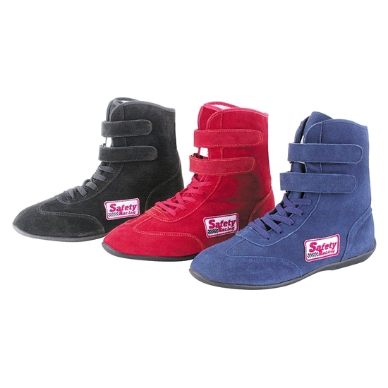 Garage Sale - Safety Racing Suede Leather Hi-Top Driving Shoes