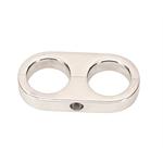 Billet Specialties 68720 Alum Hose Separator Clamp, .906 x .906 Inch