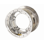 Bassett 58SR2CL 15X8 Wide-5 2 Inch BS Chrome Beadlock Wheel
