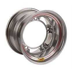 Bassett 58SR4S 15X8 Wide-5 4 Inch Backspace Silver Wheel