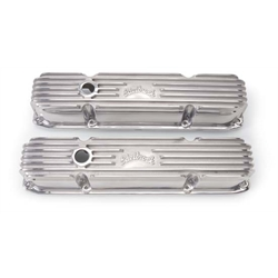 Edelbrock 4192 Aluminum Valve Cover Set, Big Block Chrysler