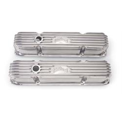 Edelbrock 4192 Aluminum Valve Cover Set, Big Block Chrysler