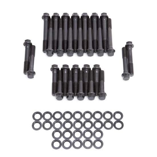 Cylinder Head Bolts Set: Edelbrock 8532 Cylinder Head Bolt Set, AMC 304-401