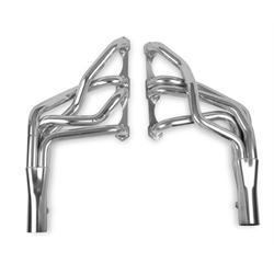 Hooker 2105-7HKR Long Tube Headers, 10 Inch Length, Stainless Steel