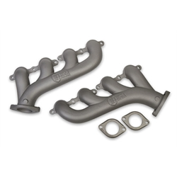Hooker 8501-5HKR GM LS Exhaust Manifold, Gray Ceramic Finish