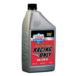 Lucas Oil 10620 SAE 20W-50 High Performance Racing Engine Oil, 1 Quart