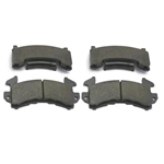 Wilwood 150-9422K D154 PolyMatrix BP-20 Brake Pad Set, GM Metric