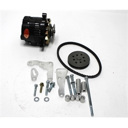 Garage Sale - Powermaster 8-721 SB Chevy 75 Amp Mini Alternator w/V-Belt Kit