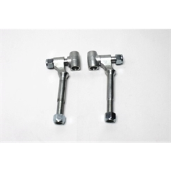 Garage Sale - Forged Adjustable Spring Perches, Zinc Plated Steel
