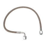 AFCO 18 Inch Brake Hose w/ 90 Degree -3 Ends