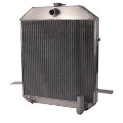 AFCO 1939-40 Deluxe, 1940-41 Ford Truck Aluminum Radiator, Chevy Engine