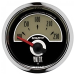 Auto Meter 1138 Cruiser Air-Core Water Temperature Gauge, 2-1/16 Inch