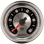 Auto Meter 1219 American Muscle Mechanical Oil Pressure Gauge