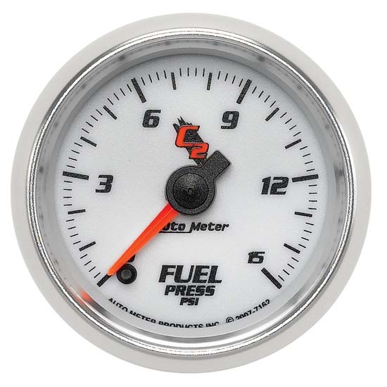 Auto Meter 7162 C2 Digital Stepper Motor Fuel Pressure Gauge