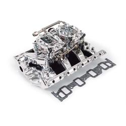 Edelbrock 20364 RPM Air-Gap Dual-Quad Intake Manifold/Carburetor Kit