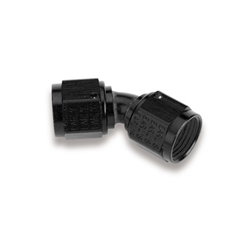 Earls AT939208ERL  45 Degree -8 AN Female to Female Swivel Adapter