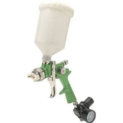 Titan Tool 19023 HVLP Vaper Gravity Feed Spray Gun, 2.3 MM