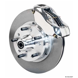 Wilwood 140-11014-P FDL 11 Pro Series Front Disc Brake Kit, 37-49 Ford