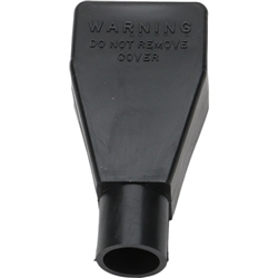 Black Battery Terminal Protector Cover