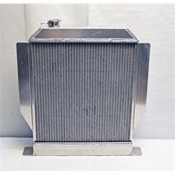 Garage Sale - AFCO 1942-48 Ford Aluminum Radiator, Ford Engine