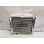 Garage Sale - AFCO Radiator, 17 X 12 Inch Cage Mount Double Pass With 1 Inch Push On