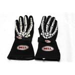 Garage Sale - Bell Skeleton Racing Gloves, Black, Size XL