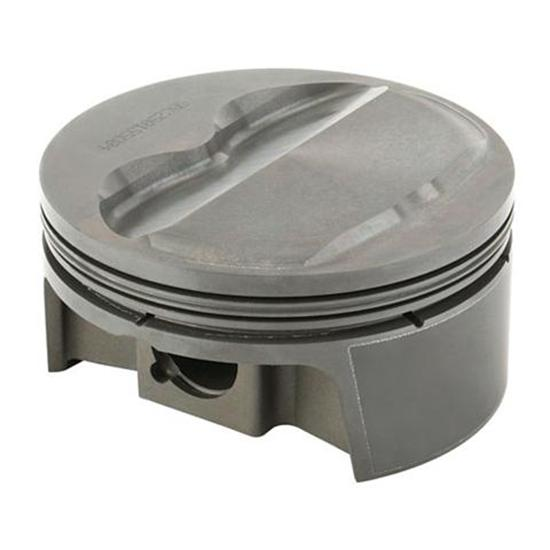 MAHLE Small Block Chevy 400 Flat Top Powerpak Pistons, 6 Inch Rods
