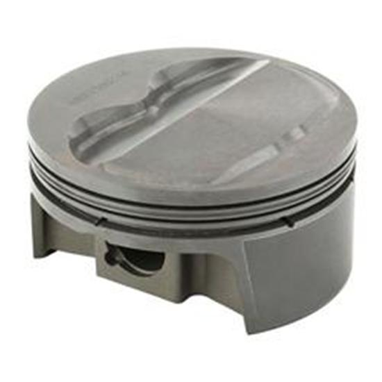 MAHLE Small Block Chevy 434 Flat Top Powerpak Pistons, 6 In Rod, 4 In Stroke ...