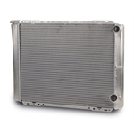 AFCO 80125N Double Pass Radiator-26.75 Inch, 1.5 Inch Right Inlet