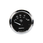 Auto Meter 201014 Cobra Air-Core Oil Pressure Gauge, 2-1/16 Inch