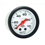 Auto Meter 5721 Phantom Mechanical Oil Pressure Gauge, 100 PSI
